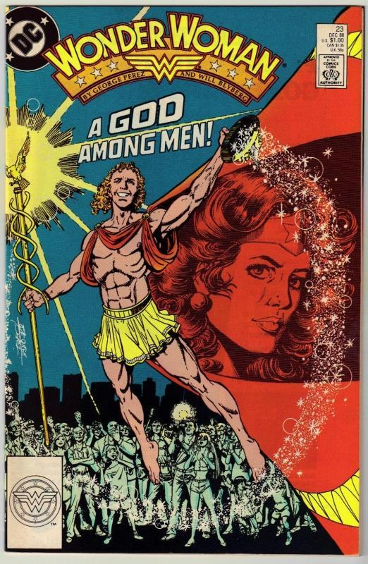 Wonder Woman #23 comic book near mint 9.4