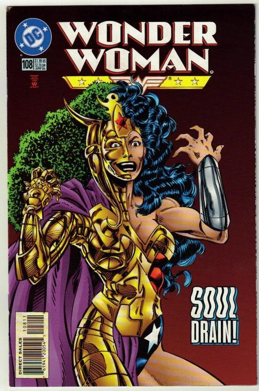 Wonder Woman #108 comic book near mint 9.4