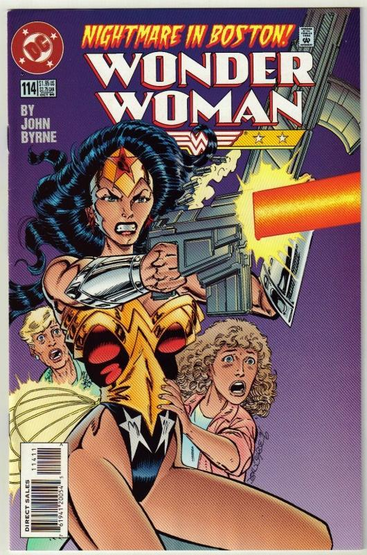 Wonder Woman #114 comic book near mint 9.4
