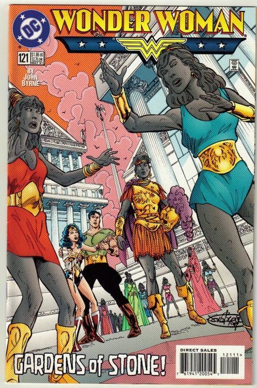Wonder Woman #121 comic book near mint 9.4