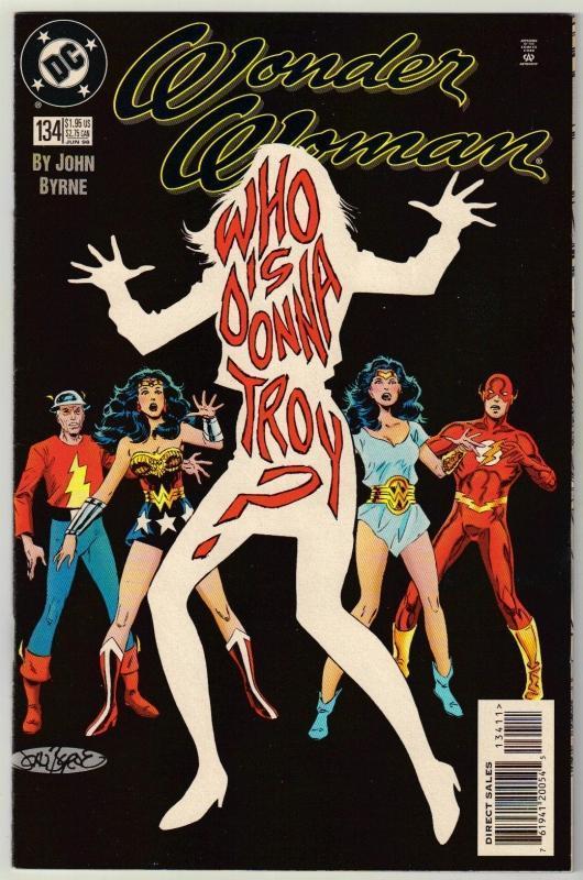 Wonder Woman #134 comic book near mint 9.4