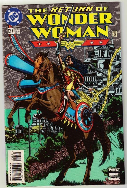 Wonder Woman #137 comic book near mint 9.4