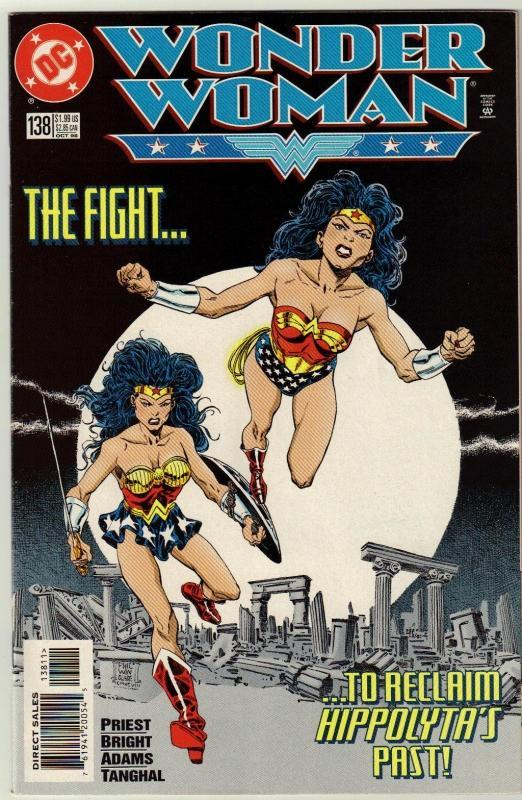 Wonder Woman #138 comic book near mint 9.4