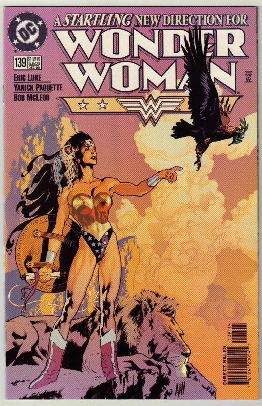 Wonder Woman #139 comic book near mint 9.4