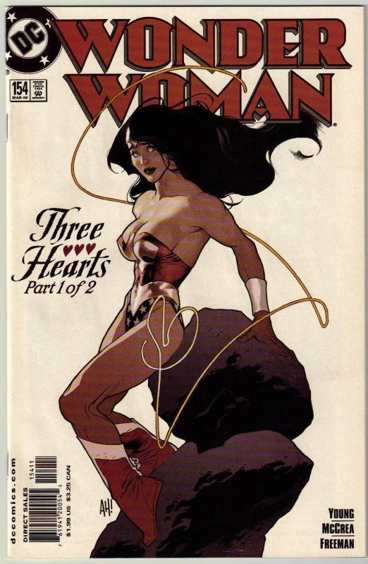 Wonder Woman #154 comic book near mint 9.4