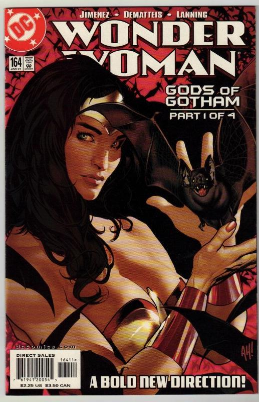 Wonder Woman #164 comic book mint 9.8