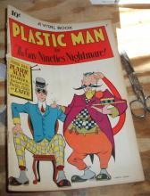 Plastic Man #2 comic very good/fine 5.0