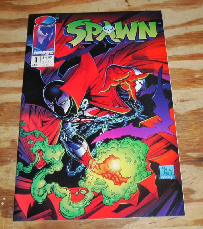 Spawn #1 comic book mint 9.8