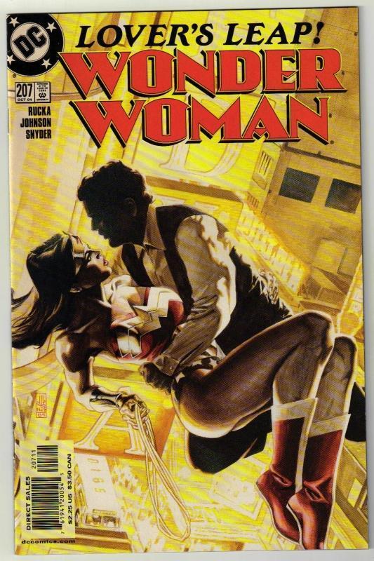 Wonder Woman #207 comic book near mint 9.4