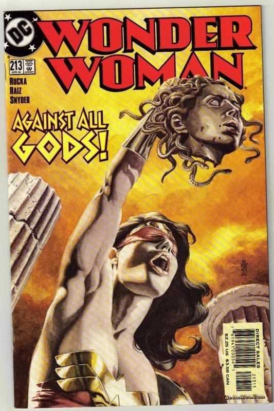 Wonder Woman #213 comic book near mint 9.4