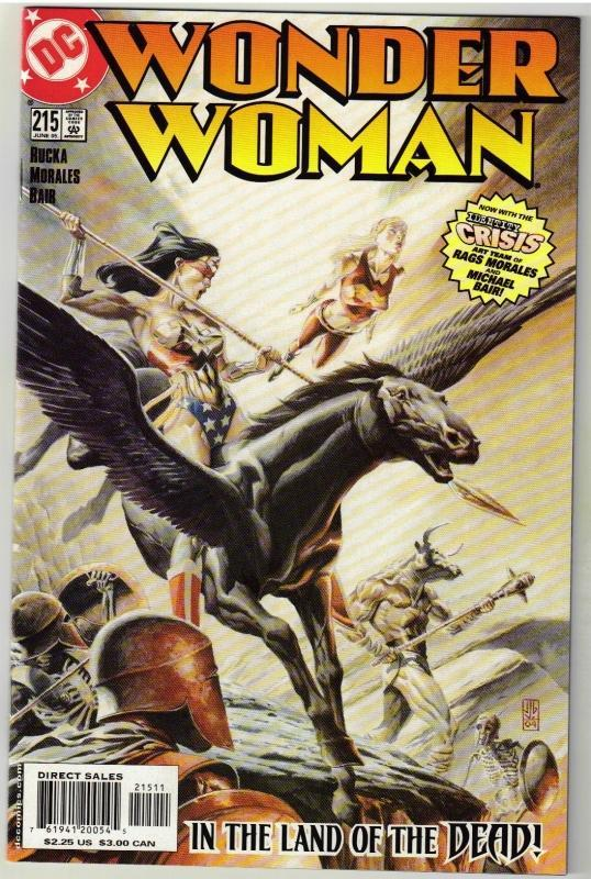 Wonder Woman #215 comic book near mint 9.4