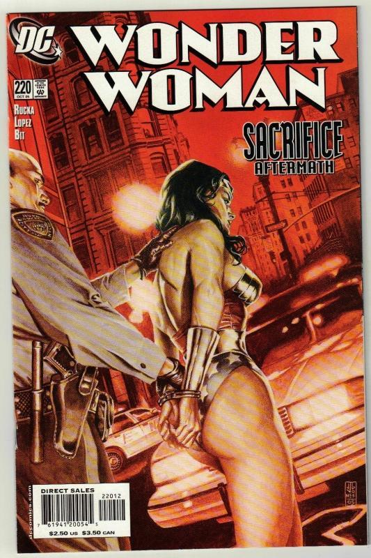Wonder Woman #220 comic book mint 9.8