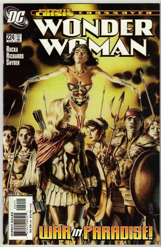 Wonder Woman #224 comic book near mint 9.4