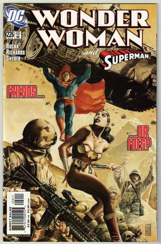Wonder Woman #226 comic book near mint 9.4