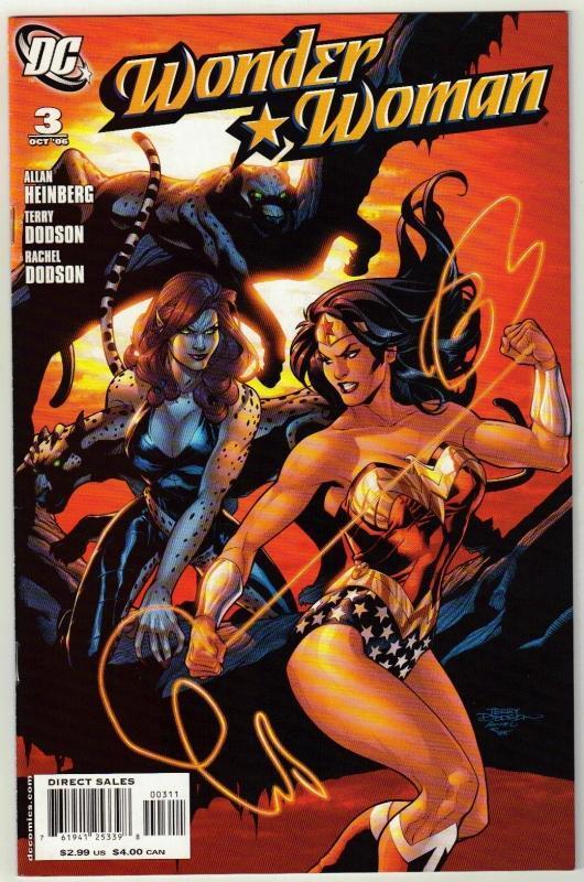 Wonder Woman #3 comic book near mint 9.4