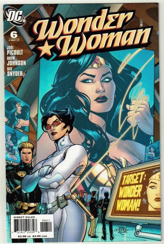 Wonder Woman #6 comic book mint 9.8
