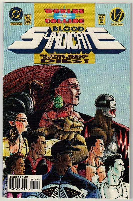 Blood Syndicate #17 comic book mint 9.8