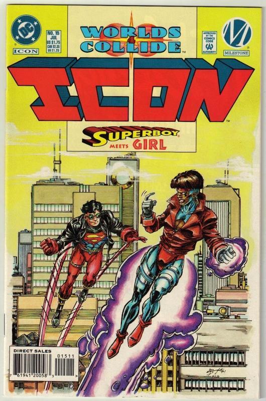 Icon #15 comic book near mint 9.4