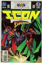 Icon #16 comic book near mint 9.4