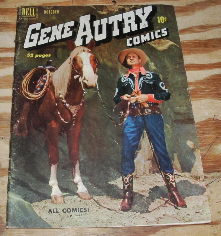 Gene Autry #44 comic book fine 6.0