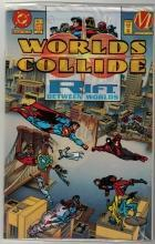 Worlds Collide collector's edition #1 comic book mint 9.8