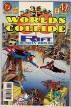 Worlds Collide regular edition #1 comic book mint 9.8