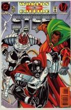 Steel #7 comic book near mint 9.4