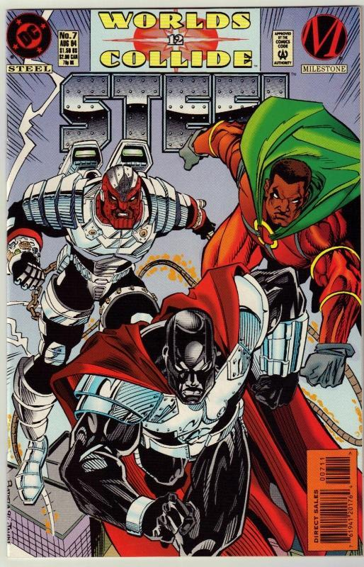 Steel #7 comic book near mint 9.4
