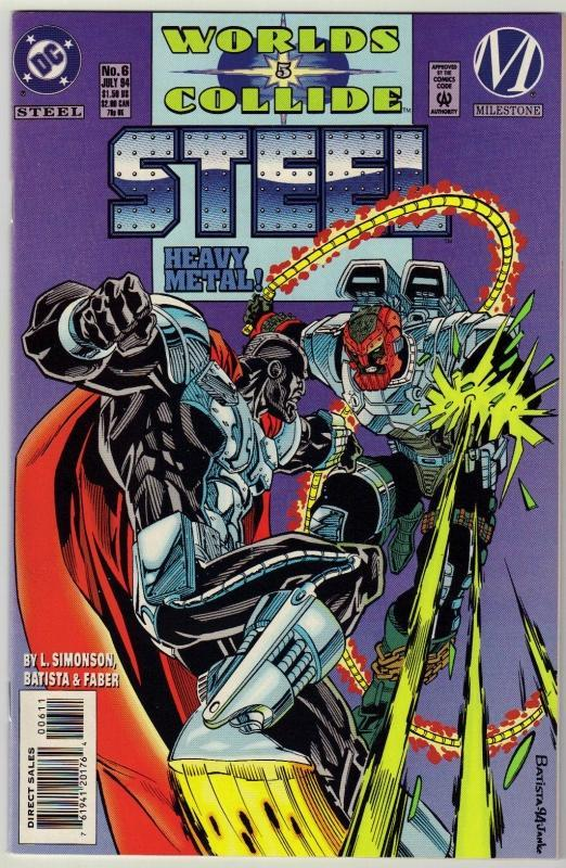 Steel #8 comic book mint 9.8