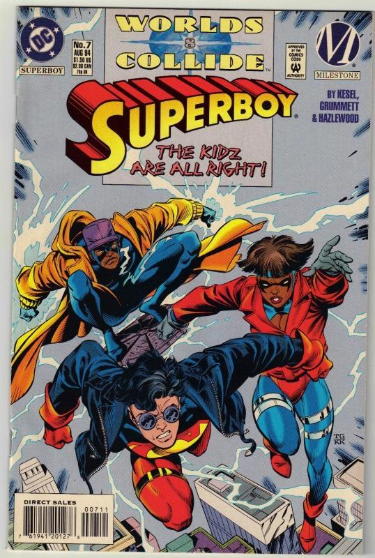 Superboy #7 comic book mint 9.8