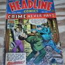 Headline Comics #66 comic book vg 4.0