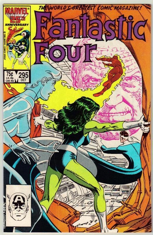 Fantastic Four #295 comic book near mint 9.4