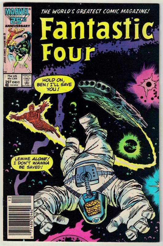 Fantastic Four #297 comic book very fine 8.0