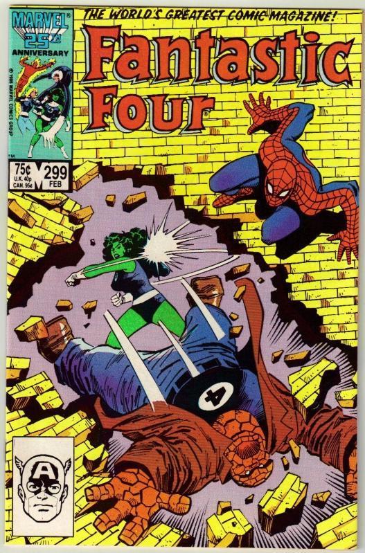 Fantastic Four #299 comic book mint 9.8