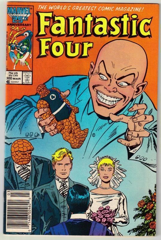 Fantastic Four #300 comic book near mint 9.4