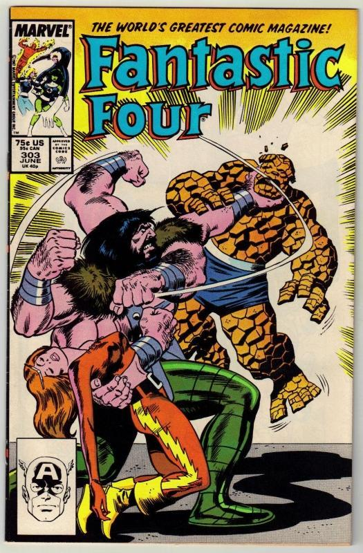 Fantastic Four #303 comic book near mint 9.4