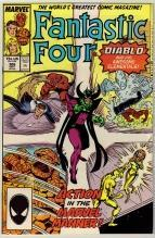 Fantastic Four #306 comic book near mint 9.4