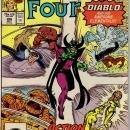 Fantastic Four #306 comic book near mint 9.4