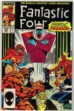 Fantastic Four #308 comic book near mint 9.4