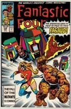 Fantastic Four #309 comic book near mint 9.4