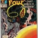 Fantastic Four #316 comic book near mint 9.4