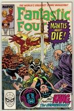 Fantastic Four #324 comic book near mint 9.4