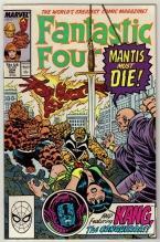 Fantastic Four #324 comic book near mint 9.4
