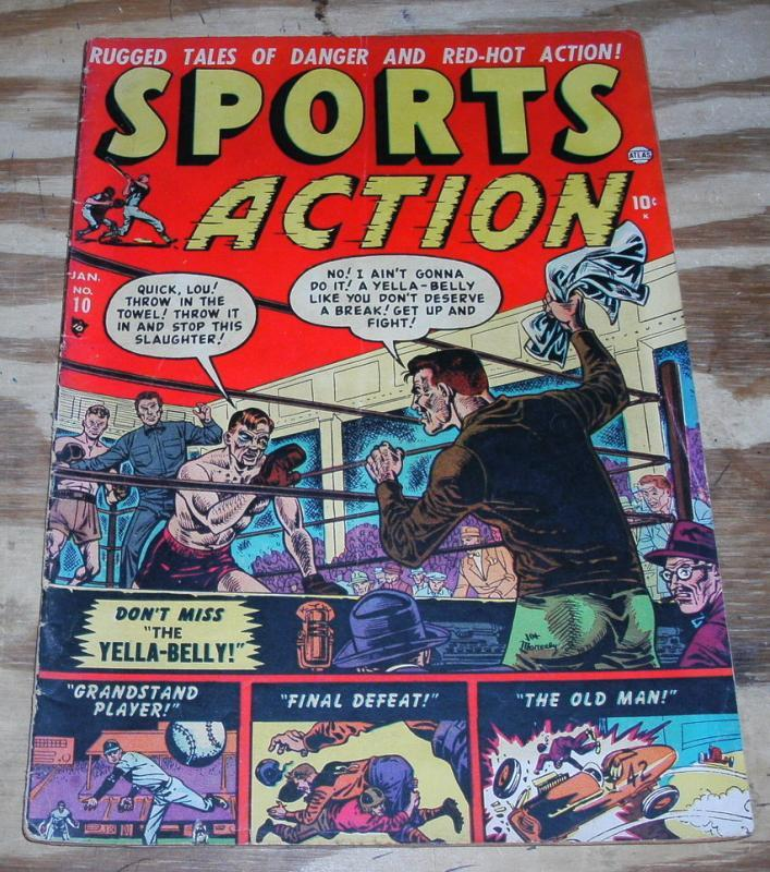 Sports Action #10 comic book very good 4.0