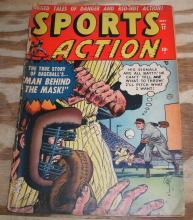 Sports Action #12 comic book good/very good 3.0