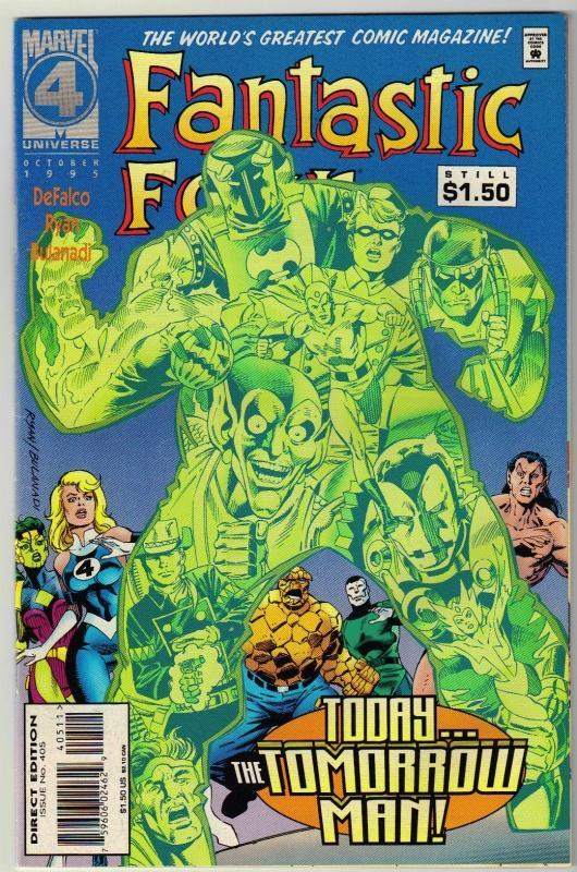 Fantastic Four #405 comic book near mint 9.4