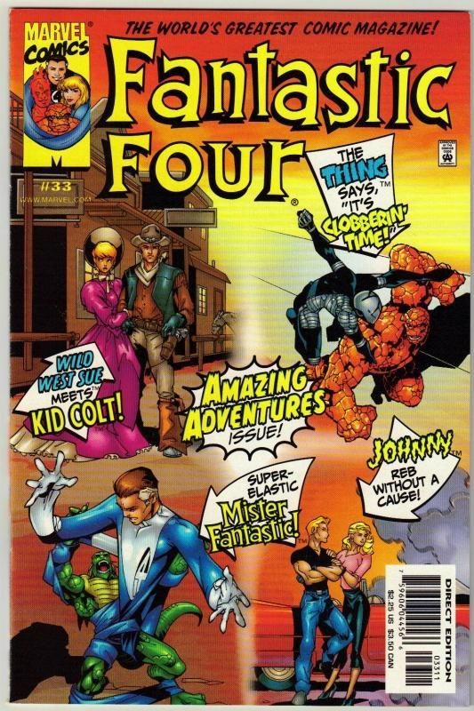 Fantastic Four #33 comic book near mint 9.4