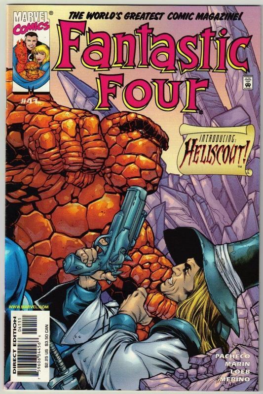 Fantastic Four #43 comic book mint 9.8