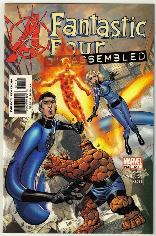 Fantastic Four #517 comic book mint 9.8