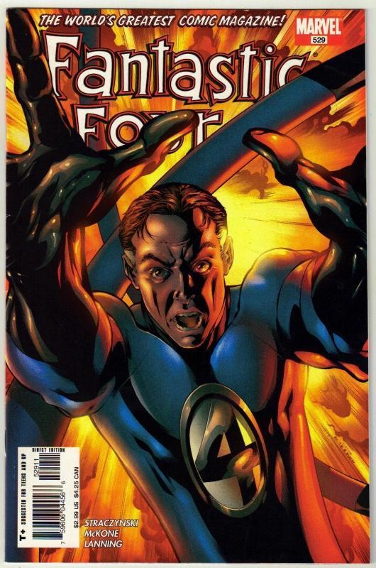 Fantastic Four #529 comic book near mint 9.4